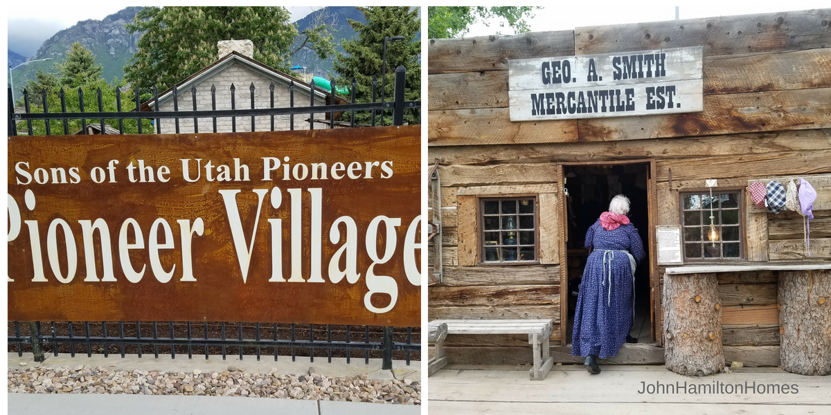 Travel Back In Time at Provo Pioneer Village