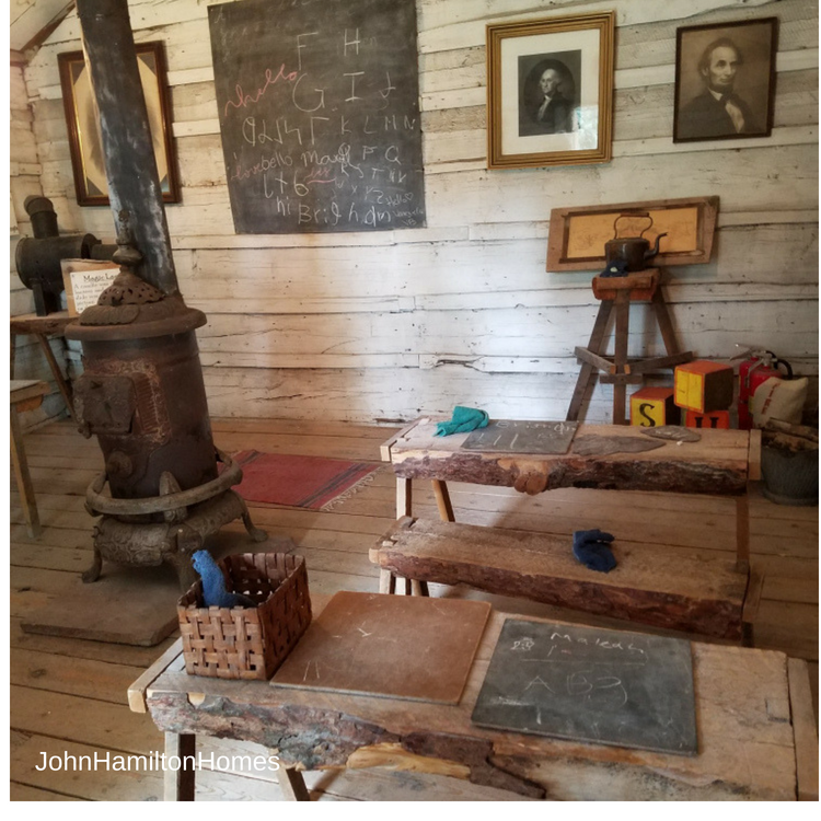 One room school house at Provo Pioneer Village