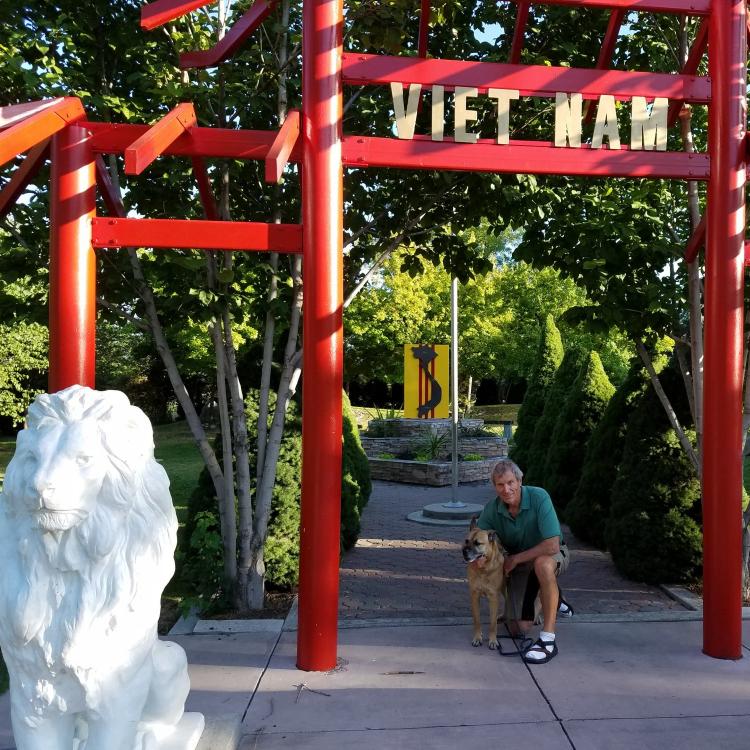 Viet Nam garden at International Peace Gardens
