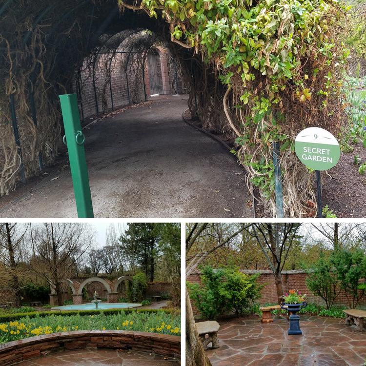 Alt=Secret Garden at the Ashton Gardens in Thanksgiving Point