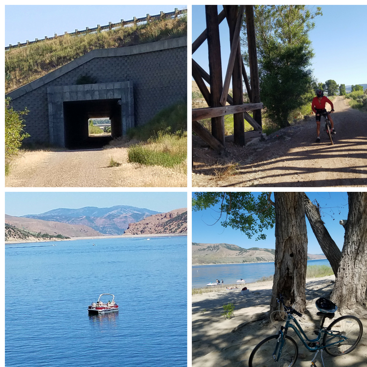 The Historic Union Pacific Rail Trail State Park