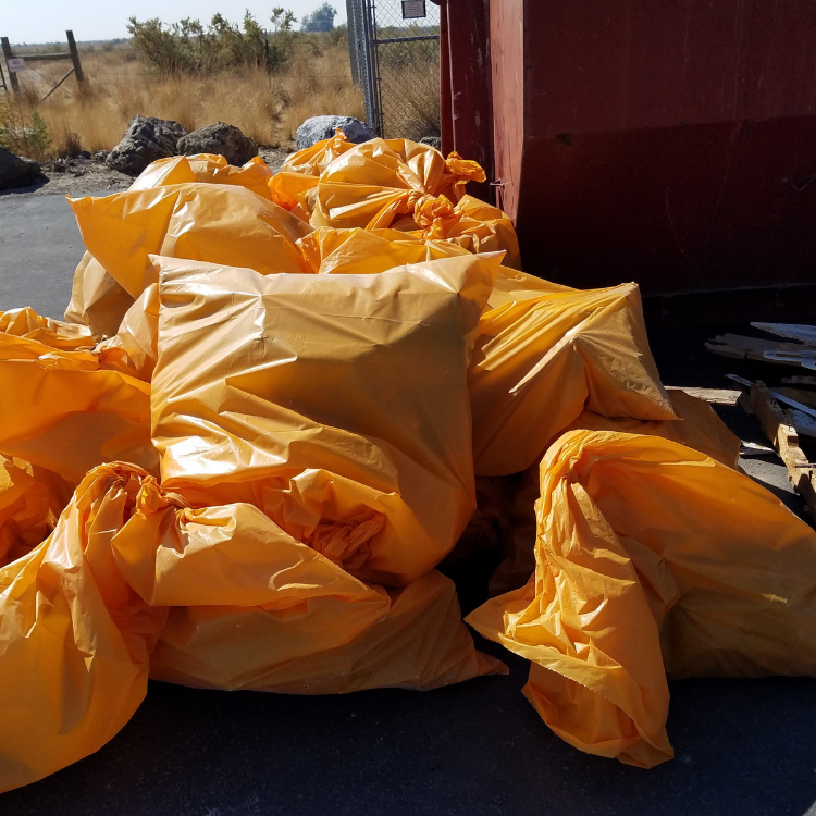 bags-litter-Antelope-Island-Clean-Up