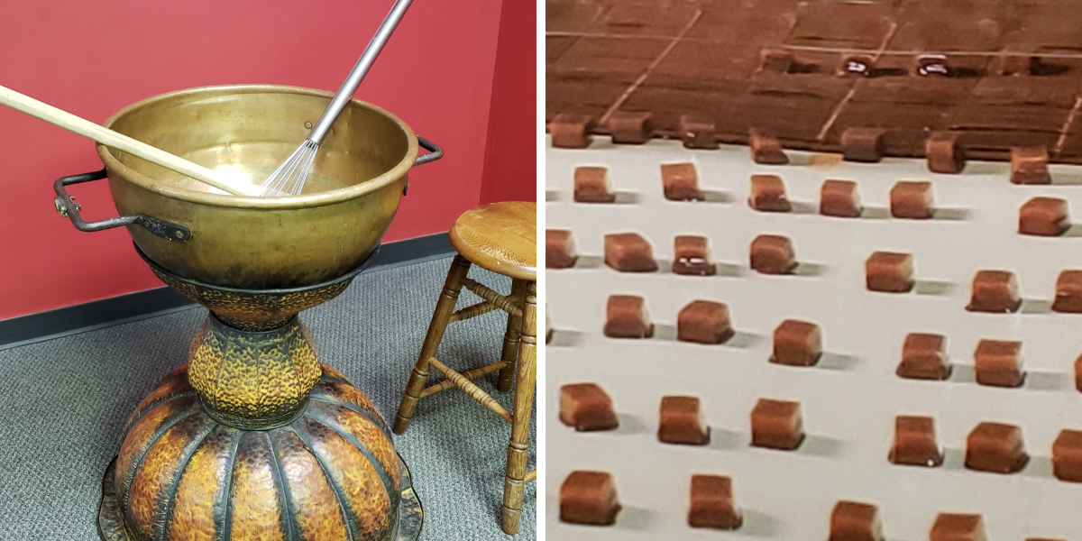 Behind the Box of Chocolates – A Tour of Mrs. Cavanaugh's Chocolate Factory