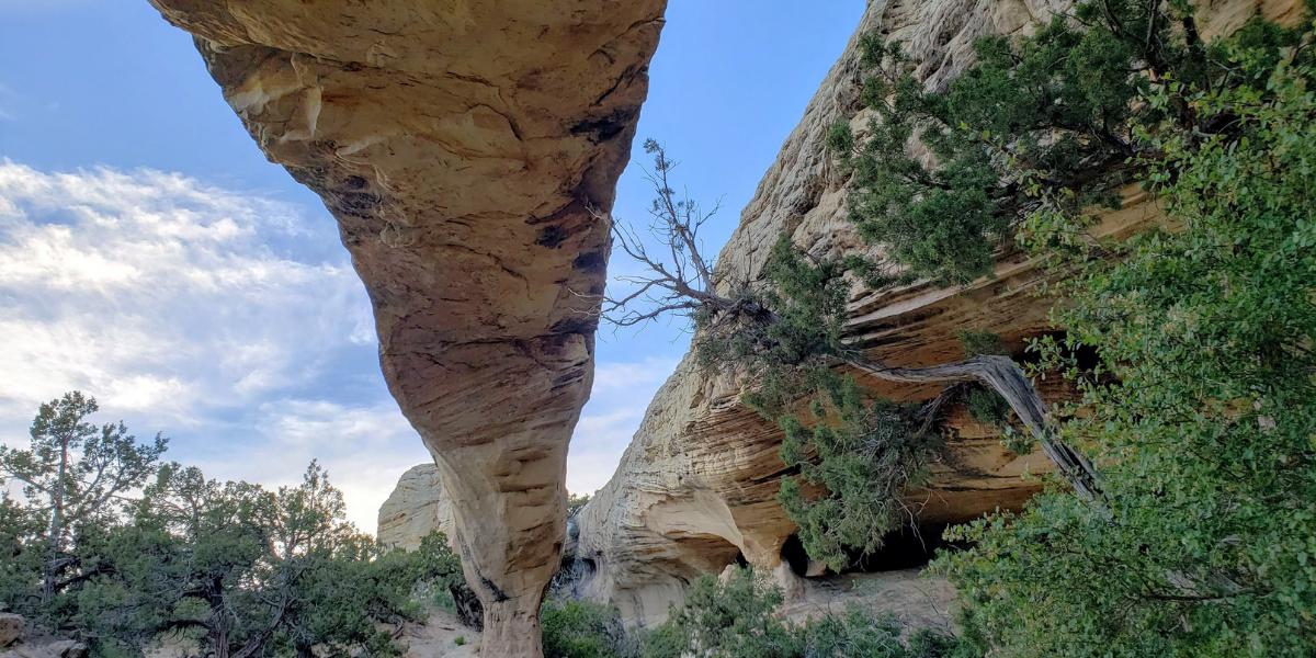 Moonshine Arch - Hidden in Plain Sight